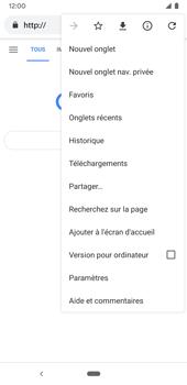 Google Pixel 3a - Internet et connexion - Naviguer sur internet - Étape 9