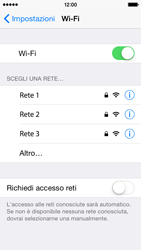 Apple iPhone 5c iOS 8 - WiFi - Configurazione WiFi - Fase 5