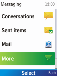 Nokia X2-00 - Voicemail - Manual configuration - Step 4