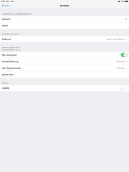 Apple iPad Pro 12.9 inch - E-Mail - Konto einrichten - 22 / 27
