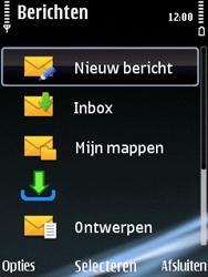 Nokia E75 - e-mail - hoe te versturen - stap 4