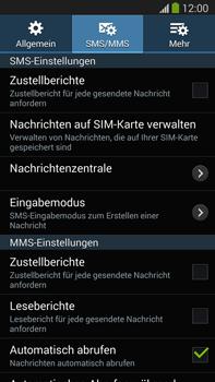 Samsung Galaxy Note 3 LTE - SMS - Manuelle Konfiguration - 9 / 10