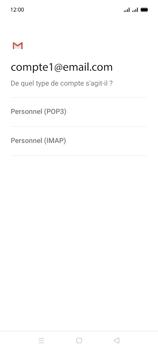 Oppo A15 - E-mails - Ajouter ou modifier un compte e-mail - Étape 10
