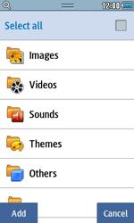 Samsung S5250 Wave 525 - E-mail - Sending emails - Step 9