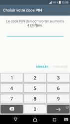 Sony Xperia X - Sécuriser votre mobile - Activer le code de verrouillage - Étape 8
