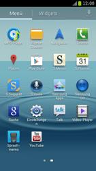 Samsung I9300 Galaxy S III - Apps - Konto anlegen und einrichten - Schritt 3