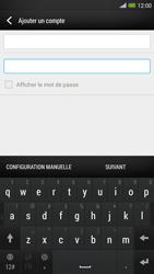 HTC One Max - E-mail - configuration manuelle - Étape 7