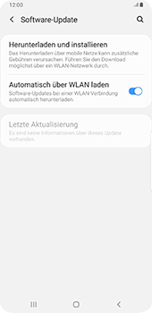 Samsung Galaxy S9 Plus - Android Pie - Software - Installieren von Software-Updates - Schritt 6