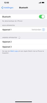 Apple iPhone XS Max - Bluetooth - headset, carkit verbinding - Stap 6