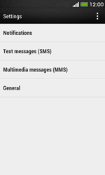HTC Desire 500 - SMS - Manual configuration - Step 5