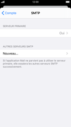 Apple iPhone 8 - iOS 13 - E-mail - Configurer l