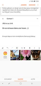 Samsung Galaxy Note9 - E-mail - envoyer un e-mail - Étape 12