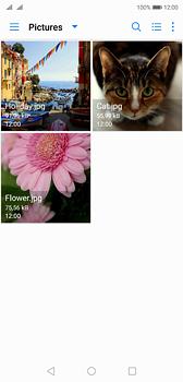 Huawei P20 - MMS - afbeeldingen verzenden - Stap 16