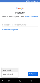 Samsung galaxy-a7-dual-sim-sm-a750fn - Applicaties - Account aanmaken - Stap 6