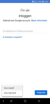 Samsung Galaxy A7 (2018) - apps - account instellen - stap 6