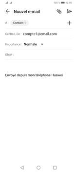 Huawei Y6P - E-mails - Envoyer un e-mail - Étape 7