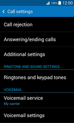 Samsung G318H Galaxy Trend 2 Lite - Voicemail - Manual configuration - Step 7