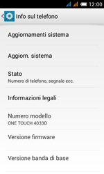 Alcatel One Touch Pop C3 - Software - Installazione degli aggiornamenti software - Fase 6