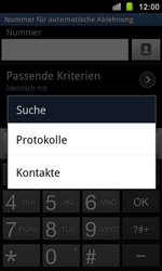 Samsung Galaxy Ace 2 - Anrufe - Anrufe blockieren - 9 / 13