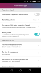 Huawei Huawei Y5 II - Messagerie vocale - Configuration manuelle - Étape 5