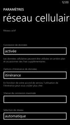 Nokia Lumia 1320 - Internet et roaming de données - Désactivation du roaming de données - Étape 5