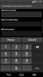 LG D955 G Flex - E-mail - configuration manuelle - Étape 10