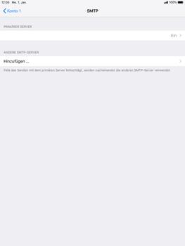 Apple iPad Pro 9.7 inch - E-Mail - Konto einrichten - 20 / 27