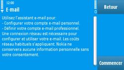 Nokia N97 - E-mail - Configuration manuelle - Étape 8