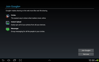 Samsung Galaxy Tab 2 10.1 - Applications - Setting up the application store - Step 11