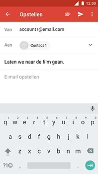 Nokia 6 - E-mail - E-mail versturen - Stap 8