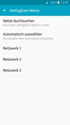 Samsung Galaxy S6 - Netzwerk - Manuelle Netzwerkwahl - Schritt 7