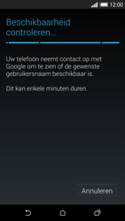 HTC Desire 610 - apps - account instellen - stap 9