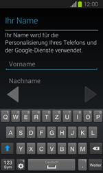 Samsung Galaxy Express - Apps - Einrichten des App Stores - Schritt 5