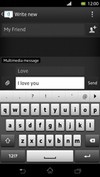 Sony LT30p Xperia T - MMS - Sending pictures - Step 10