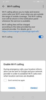 Huawei P30 - WiFi - Enable WiFi Calling - Step 8