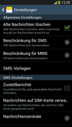 Samsung Galaxy S4 Active - SMS - Manuelle Konfiguration - 6 / 9