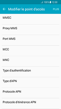 Samsung Galaxy A8 - Internet et roaming de données - Configuration manuelle - Étape 12
