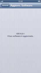 Apple iPhone 5 - Software - Installazione degli aggiornamenti software - Fase 7