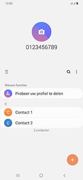 Samsung Galaxy A50 - Contactgegevens overzetten - delen via Bluetooth - Stap 4