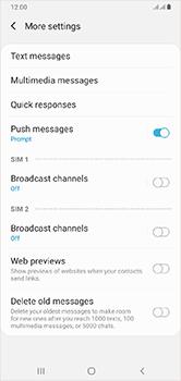 Samsung Galaxy A10 - SMS - Manual configuration - Step 8