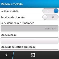 BlackBerry Q5 - Internet - configuration manuelle - Étape 7