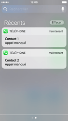 Apple iPhone SE - iOS 10 - iOS features - Personnaliser les notifications - Étape 13