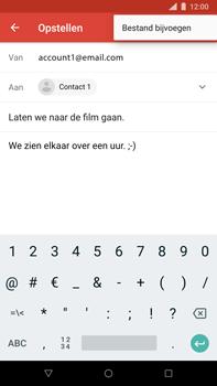 Nokia 8 Sirocco - e-mail - hoe te versturen - stap 10