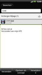 HTC X515m EVO 3D - E-mail - hoe te versturen - Stap 11