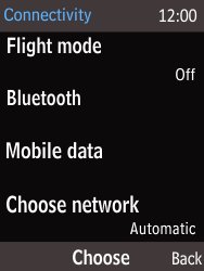 Nokia 225 - Network - Manual network selection - Step 5