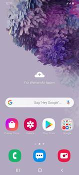 Samsung Galaxy S20 Plus 5G - Apps - Nach App-Updates suchen - Schritt 1