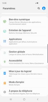 Samsung Galaxy S10 - Prise en main - Comment ajouter une langue de clavier - Étape 4