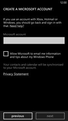 HTC Windows Phone 8X - Applications - Setting up the application store - Step 11