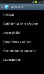 Samsung Galaxy S III Mini - Internet et roaming de données - Configuration manuelle - Étape 19