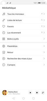 Huawei Nova 5T - Photos, vidéos, musique - Ecouter de la musique - Étape 3